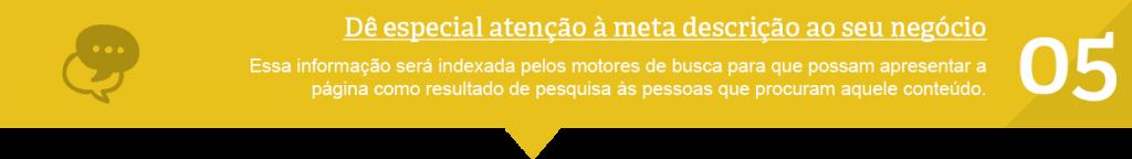 5º técnica SEO Lisboa