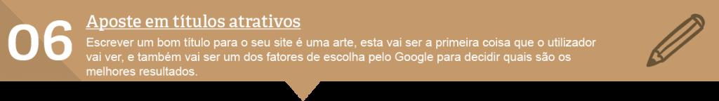 6º técnica SEO Lisboa